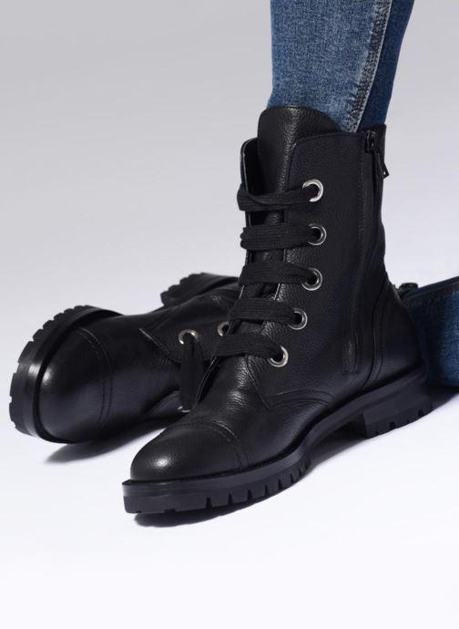 Bottines et boots Notabene YUKON Noir vue bas / vue portée sac