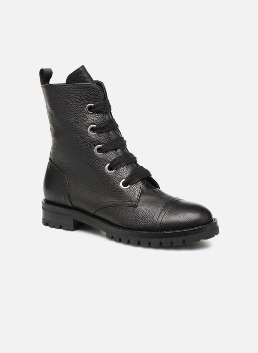 Ankelstøvler Notabene YUKON Sort detaljeret billede af skoene