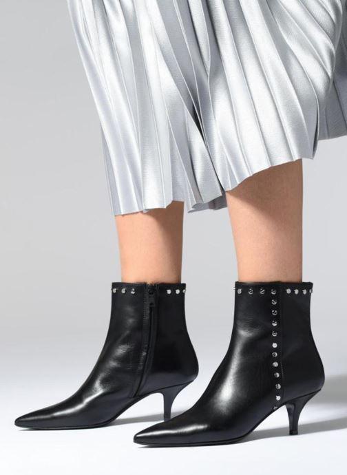 Bottines et boots Notabene ANIAK Noir vue bas / vue portée sac