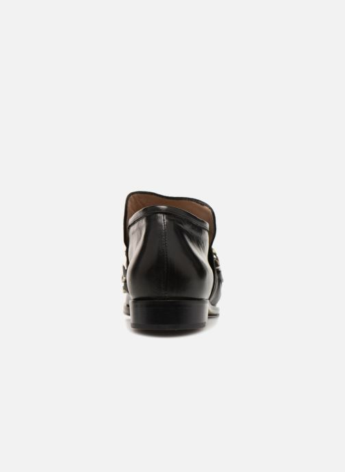 Loafers Notabene ROGUE Black view from the right