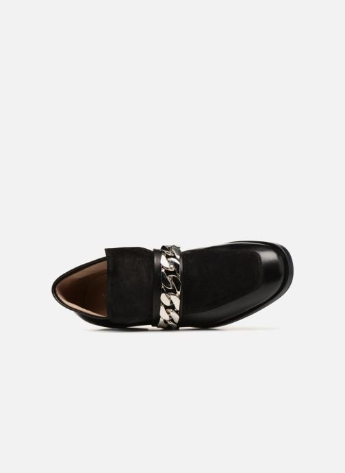 Loafers Notabene ROGUE Black view from the left