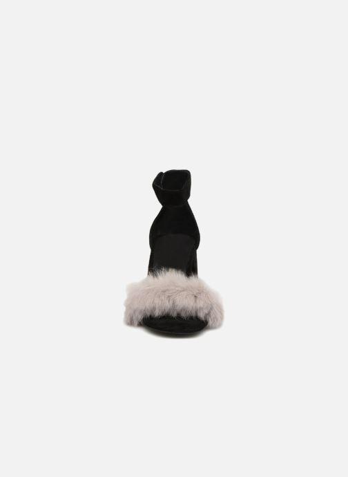 Sandales et nu-pieds Jeffrey Campbell 421-2 Noir vue portées chaussures