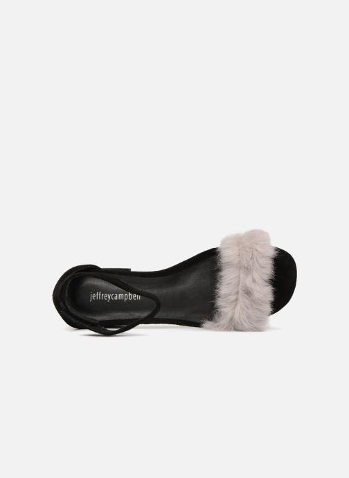 Sandales et nu-pieds Jeffrey Campbell 421-2 Noir vue gauche