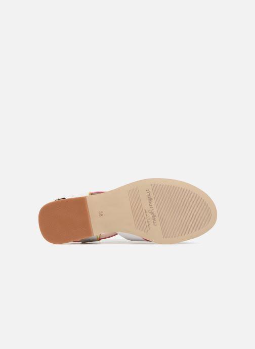 Mellow Mellow Mellow Gelb DALINE (weiß) - Sandalen bei Más cómodo 4d14e6