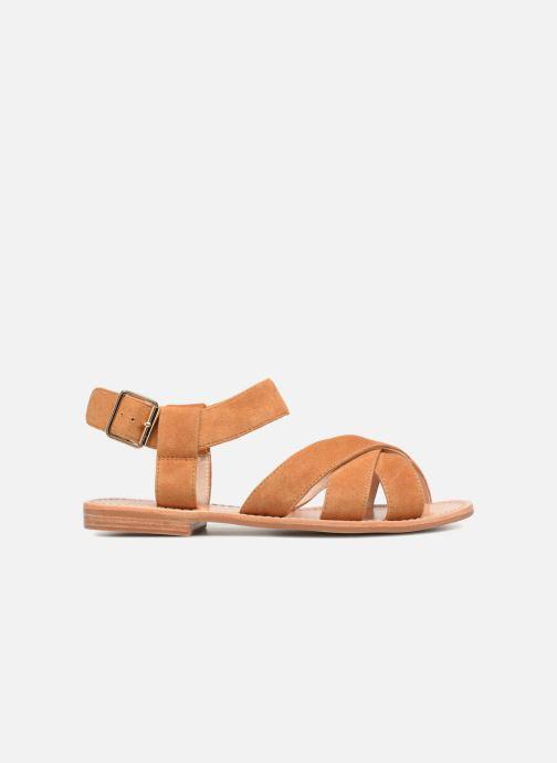 Sandales et nu-pieds Mellow Yellow DALINE Marron vue derrière