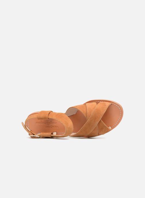 Sandali e scarpe aperte Mellow Yellow DALINE Marrone immagine sinistra