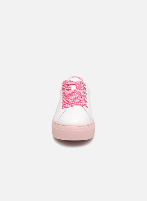 Baskets Mellow Yellow DAVICHY Rose vue portées chaussures