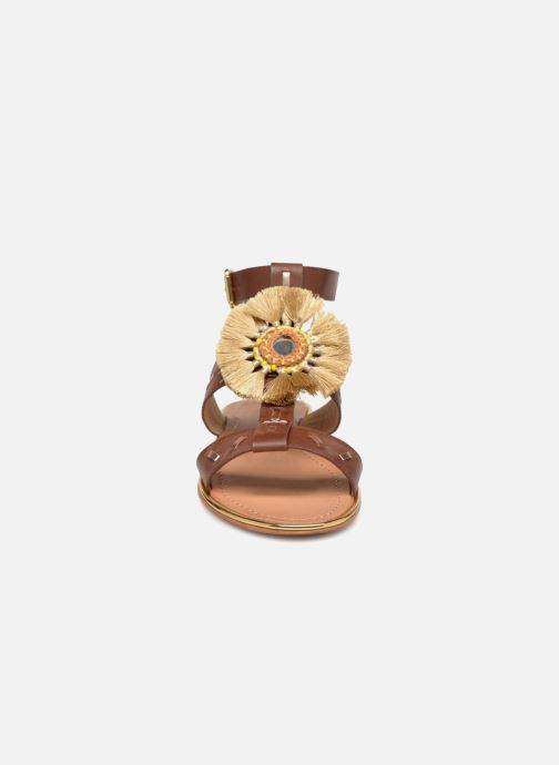 Mellow Yellow Divadia (or Et Bronze) - Sandales Nu-pieds Or Bronze (or) 4l045qT7