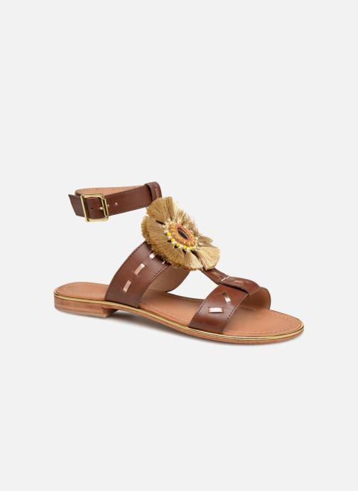 Sandales et nu-pieds Mellow Yellow DIVADIA Or et bronze vue détail/paire