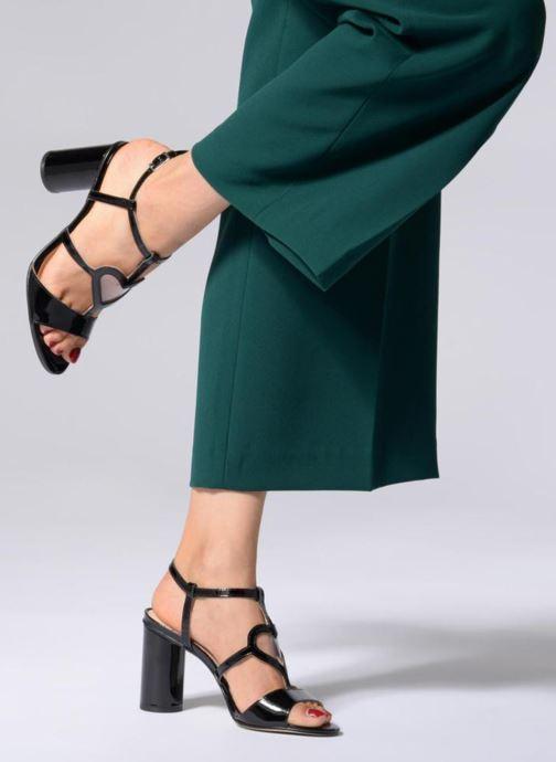 Sandales et nu-pieds Mellow Yellow DULYLA Noir vue bas / vue portée sac