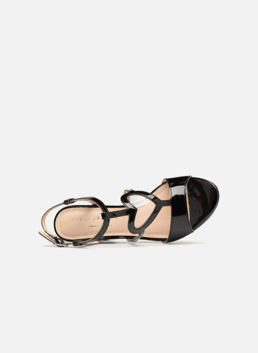 Sandales et nu-pieds Mellow Yellow DULYLA Noir vue gauche