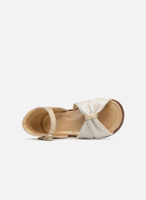 Sandales et nu-pieds Little Mary Diana Or et bronze vue gauche