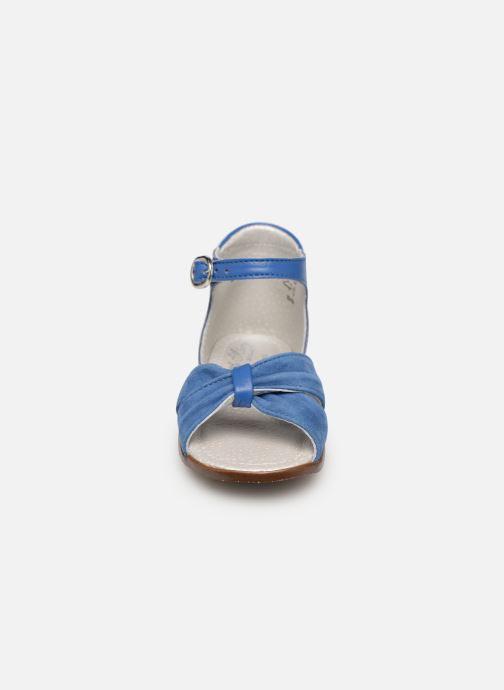 Sandales et nu-pieds Little Mary Diana Bleu vue portées chaussures