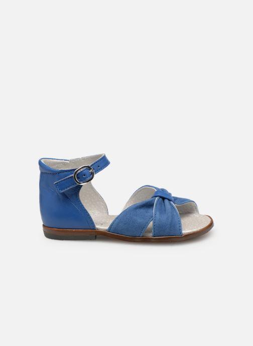 Sandales et nu-pieds Little Mary Diana Bleu vue derrière