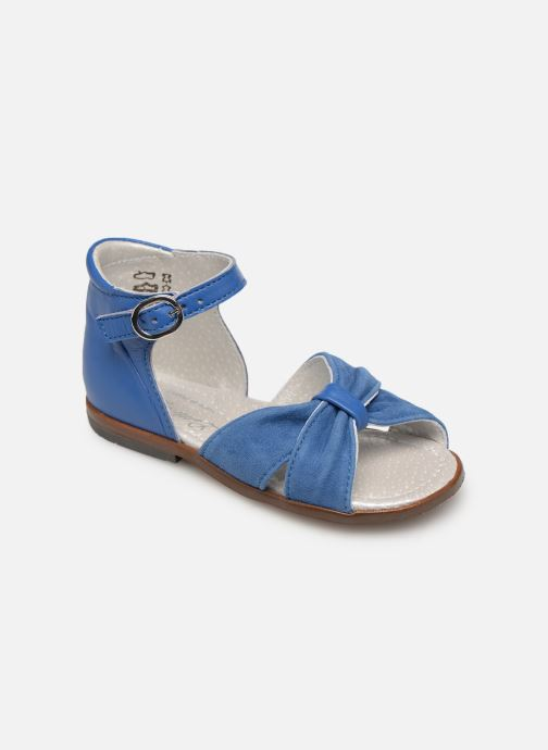 Sandals Little Mary Diana Blue detailed view/ Pair view