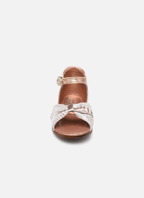 Sandales et nu-pieds Little Mary Diana Argent vue portées chaussures
