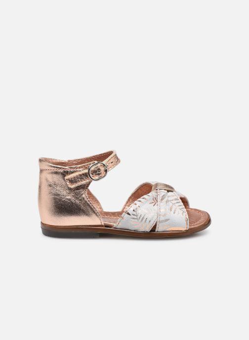 Sandales et nu-pieds Little Mary Diana Argent vue derrière
