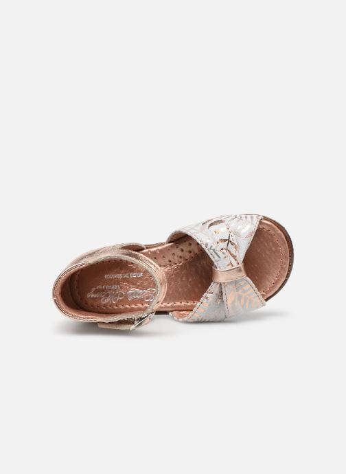 Sandales et nu-pieds Little Mary Diana Argent vue gauche