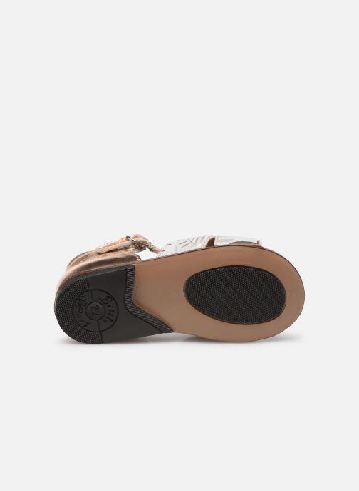 Sandales et nu-pieds Little Mary Diana Argent vue haut
