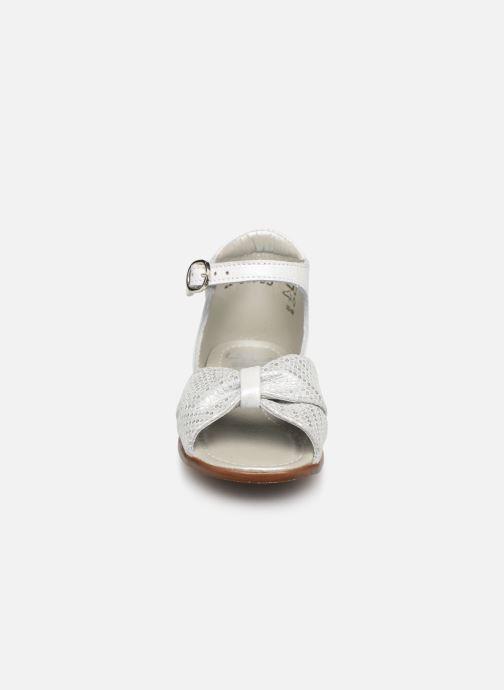 Sandalen Little Mary Diana silber schuhe getragen