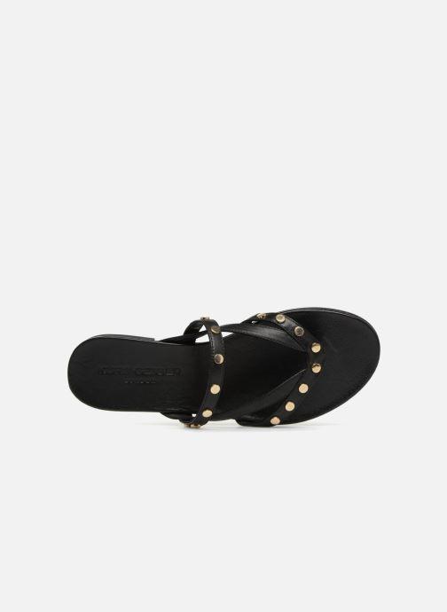 Sandales et nu-pieds KG By Kurt Geiger MODENA Noir vue gauche