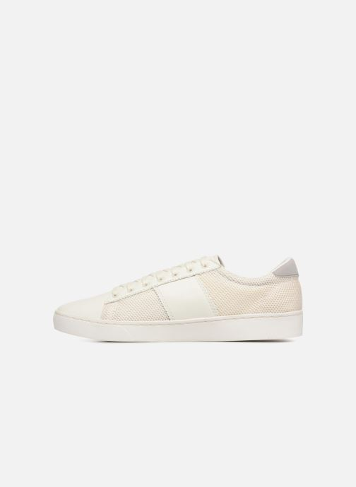Baskets Fred Perry Baseline Perforated Beige vue face