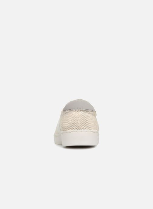 Baskets Fred Perry Baseline Perforated Beige vue droite
