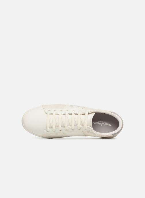 Baskets Fred Perry Baseline Perforated Beige vue gauche