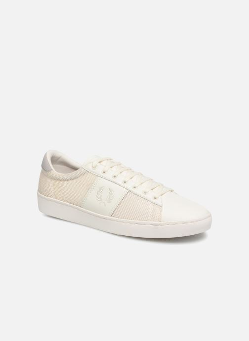 Baskets Fred Perry Baseline Perforated Beige vue détail/paire