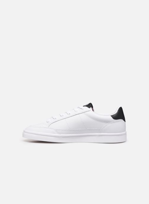 Baskets Fred Perry Deuce Leather Blanc vue face