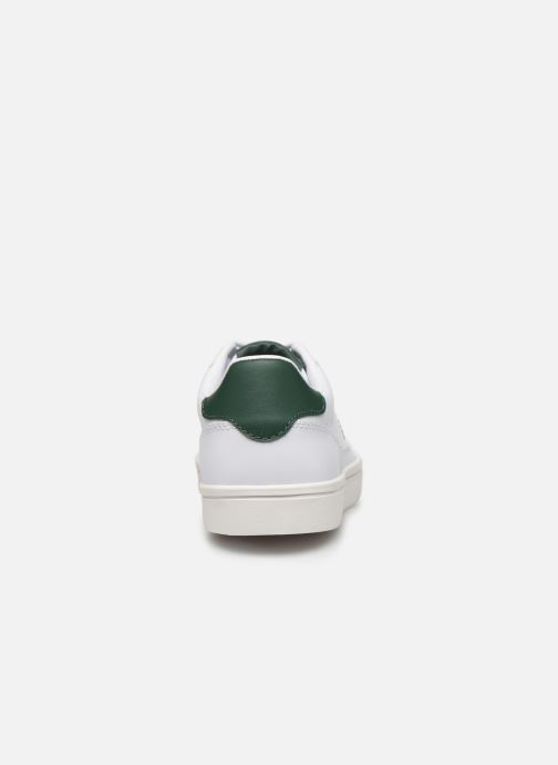 Baskets Fred Perry Deuce Leather Blanc vue droite