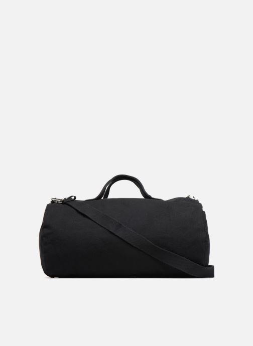 Sacs de sport Fred Perry Leather and Canvas Duffle Bag Noir vue face
