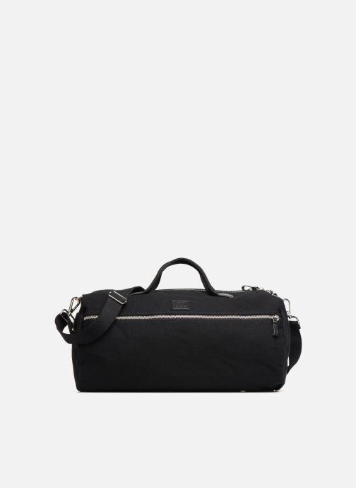Sacs de sport Fred Perry Leather and Canvas Duffle Bag Noir vue détail/paire