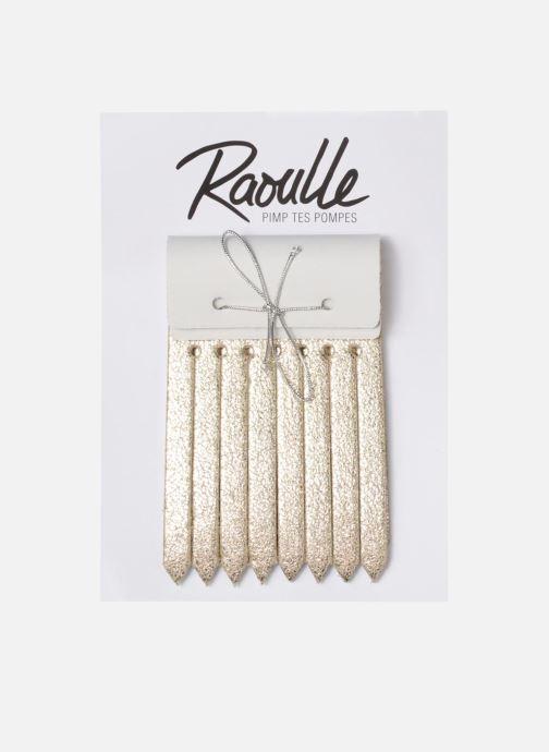 Divers Raoulle REVERSO Or et bronze vue détail/paire