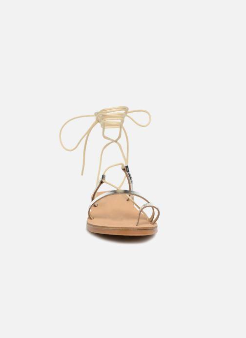 Sandals Pieces SANDALE METALLIC Silver model view