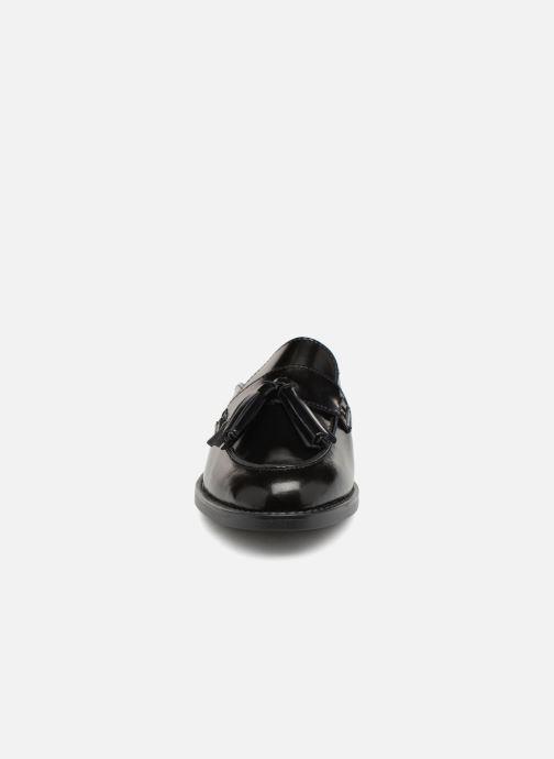 Clogs & Pantoletten Pieces MULE CUIR schwarz schuhe getragen