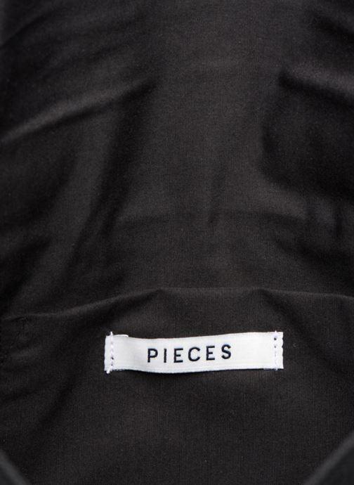 Handtassen Pieces POCHETTE RAPHIA Zwart achterkant