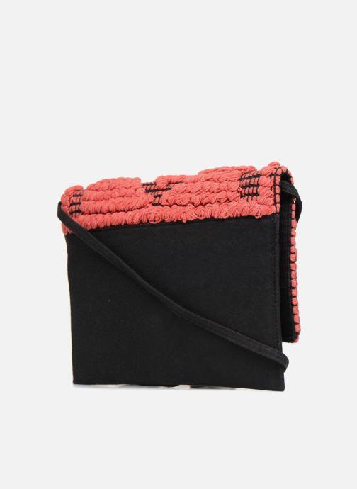 À Sacs Pochette Main Pieces Raphia Pink Paradise PyN8m0nvwO