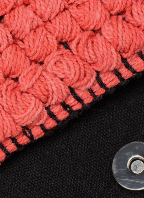 Bolsos de mano Pieces POCHETTE RAPHIA Rosa vista lateral izquierda