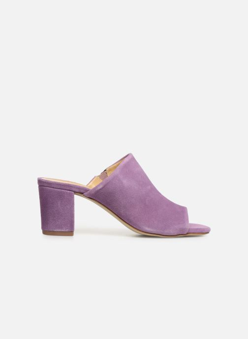 Mules & clogs Pieces MELA SUEDE MULE Purple back view