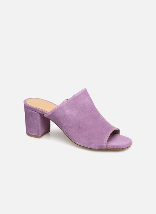 Mules & clogs Pieces MELA SUEDE MULE Purple detailed view/ Pair view