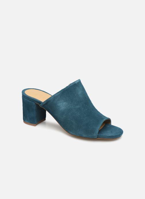 Mules & clogs Pieces MELA SUEDE MULE Blue detailed view/ Pair view