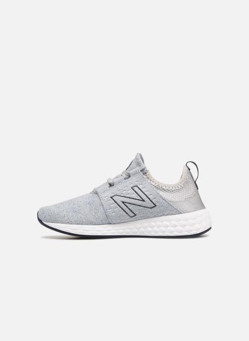 Sneaker New Balance Sneakers chinées MCRUZHG gris grau ansicht von vorne