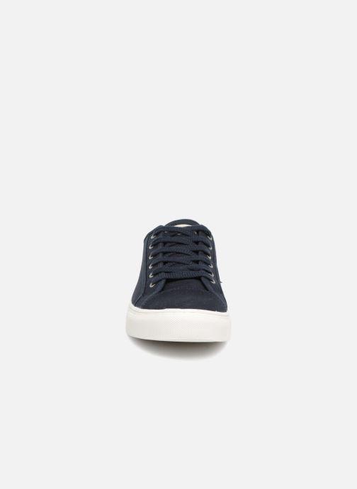 Baskets Selected Homme Canvas sneakers Bleu vue portées chaussures