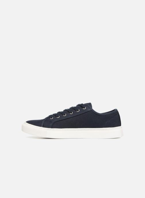Baskets Selected Homme Canvas sneakers Bleu vue face