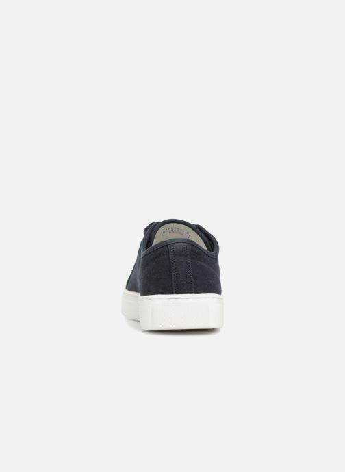 Baskets Selected Homme Canvas sneakers Bleu vue droite