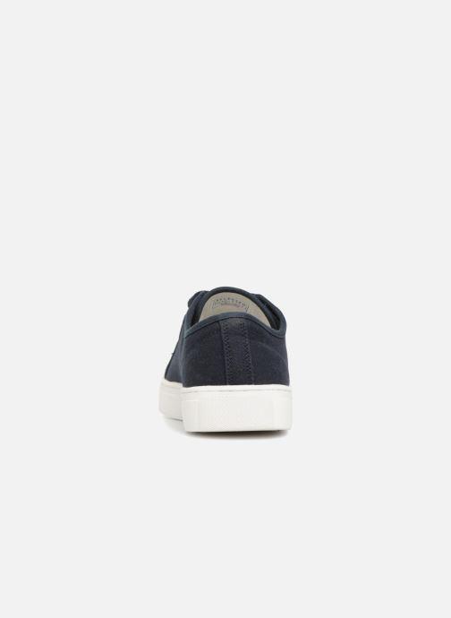 Baskets Selected Homme Canvas sneakers Bleu vue droite