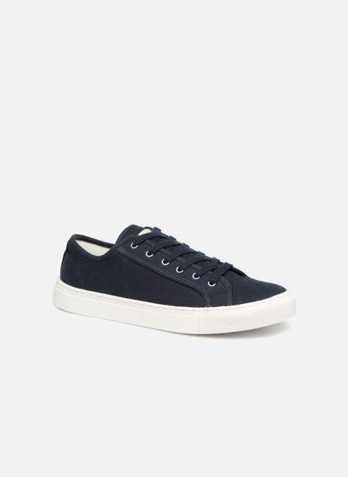 Baskets Selected Homme Canvas sneakers Bleu vue détail/paire