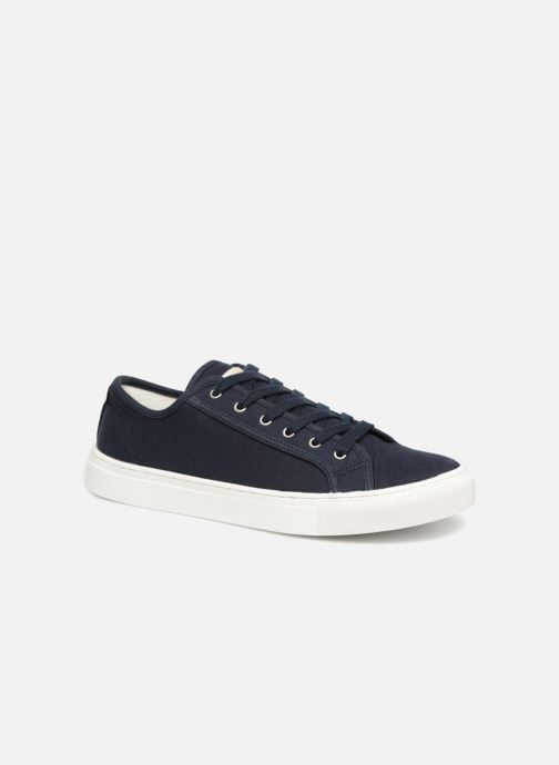 Baskets Selected Homme Canvas sneakers Bleu vue détail/paire