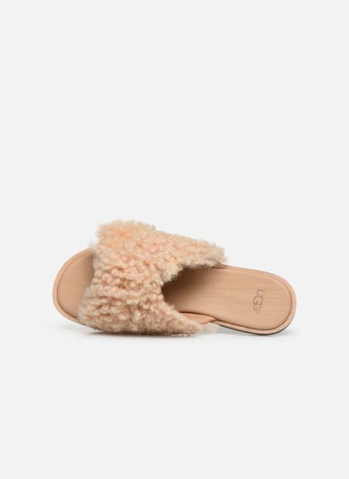 Pantofole UGG Joni Beige immagine sinistra